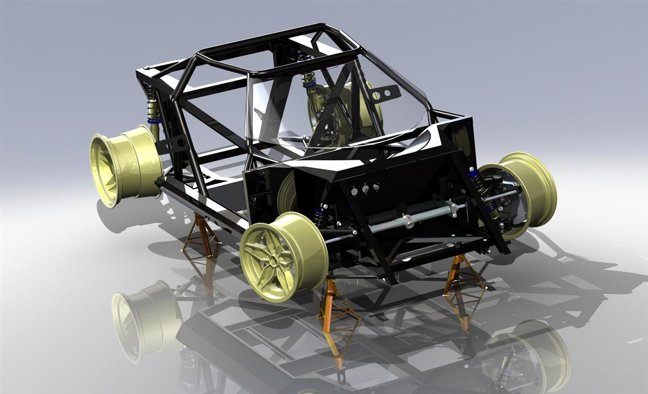 str chassis black partial fr3qs-web